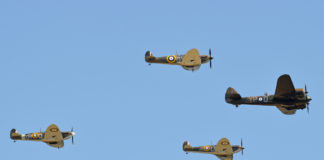 Vintage Aircraft flying experience