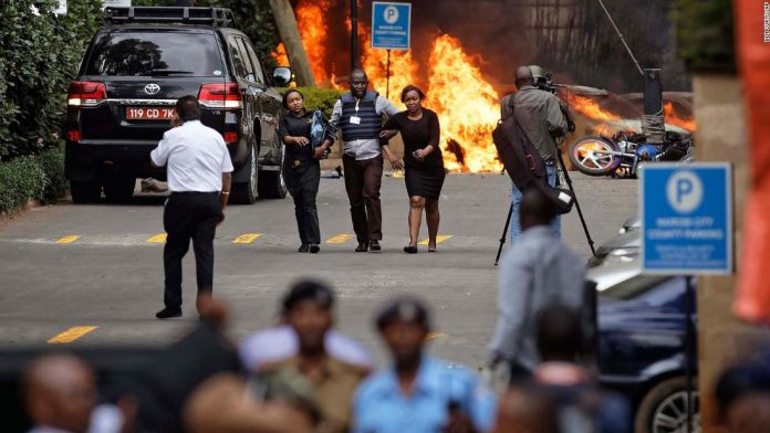 Nairobi Hotel Attack Ended With At Least 14 People Killed