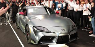 The First 2020 Toyota Supra was Sold For $2.1 Million and not in an opulent display of wealth