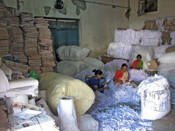 India Collects Most Of The Waste Paper From The World
