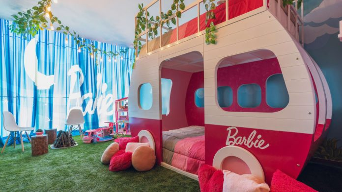 Hilton Hotel in Mexico City Is Offering The Ultimate Glamping Barbie Experience