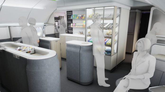 AIM Altitude Presents Ultraflex, A New Design For Airline Cabins